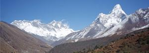 everest view from phakding