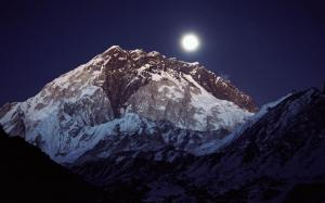 Evening view of Mt. Nuptse
