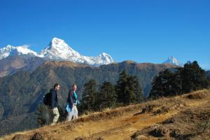 On they way to ghandruk trek
